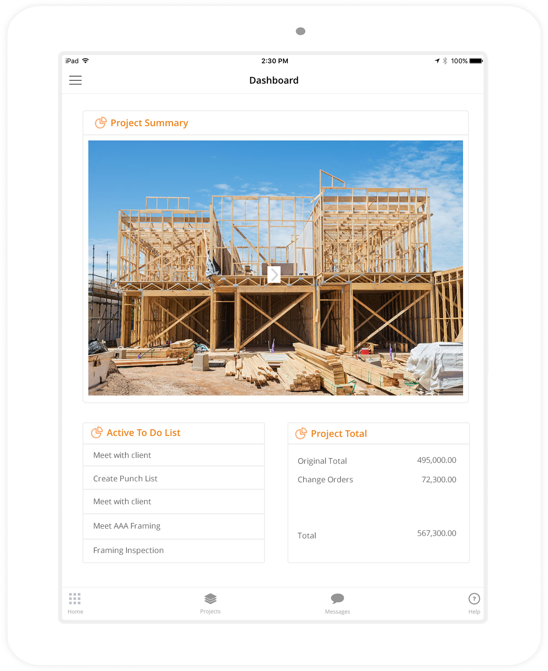 home builder software